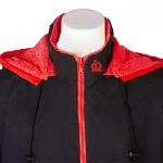 black red top
