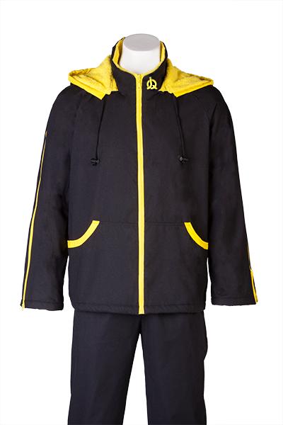 black yellow front