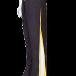 black yellow trousers