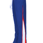 blue red trousers